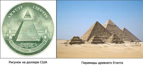 пирамиды доллар