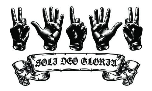 надпись gloria
