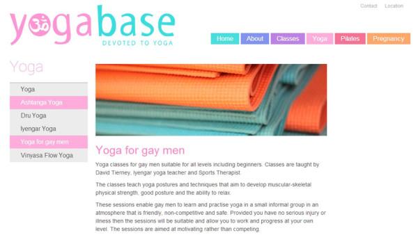 yoga for gay men
