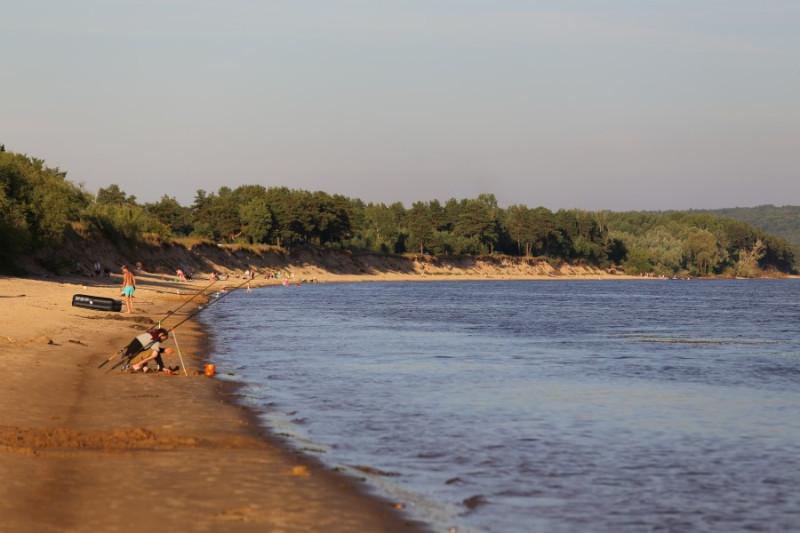Прекрасный левый берег Волги