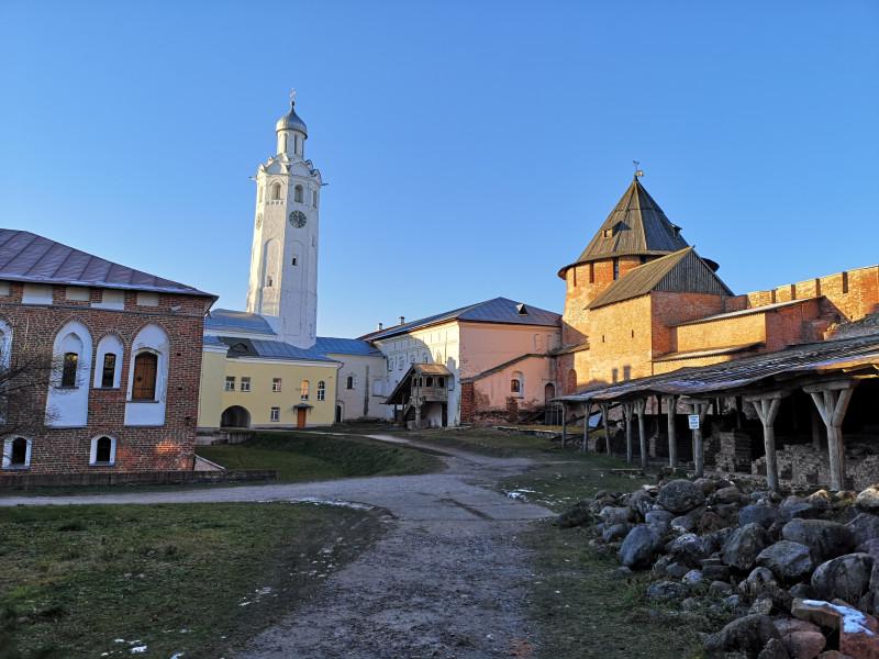 В Кремле Великого Новгорода
