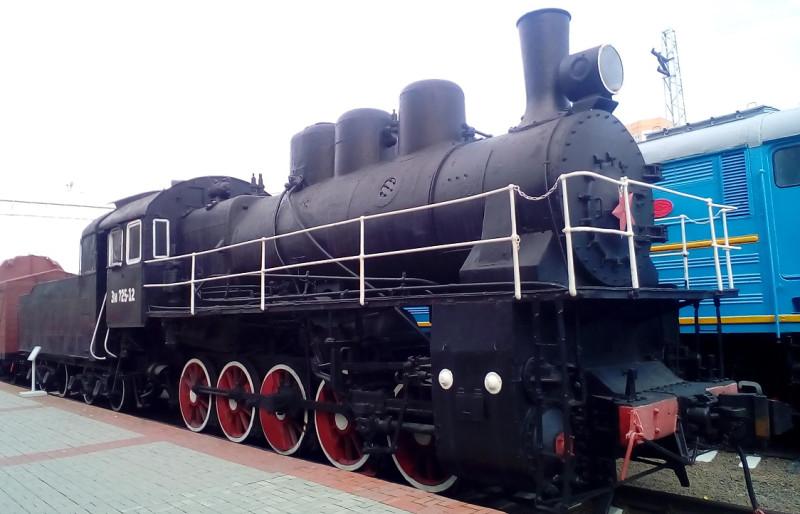 Паровоз грузовой серии Эм №725-12 1933г.