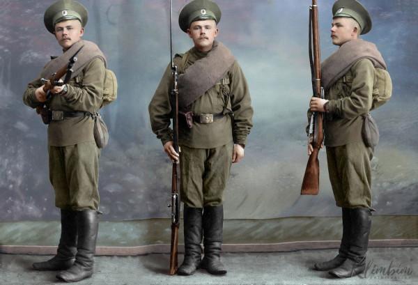 Комплектование Русской Императорской армии.