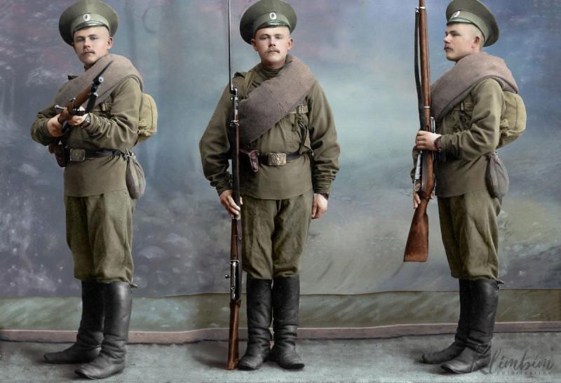 Фотография с сайта https://shnyagi.net/125211-Raskrashennye-foto-Rossijjskojj-imperatorskojj-armii.html