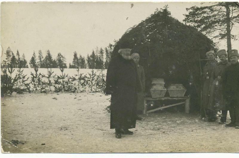 Похороны командира полка полковника Пацевича Михаила Григорьевича .