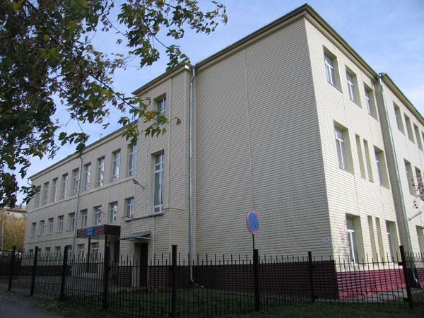 Городская начальная школа по ул. Бориса Богаткова сегодня.
