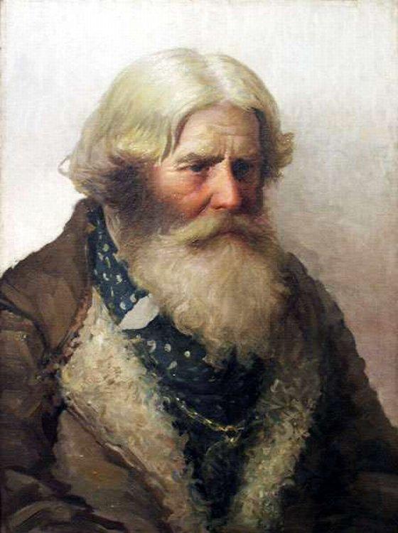 Портрет крестьянина.