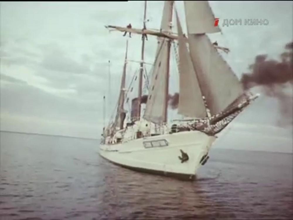 Неизвестное судно в роли парохода Джон Грфтон из к/ф 1979г.