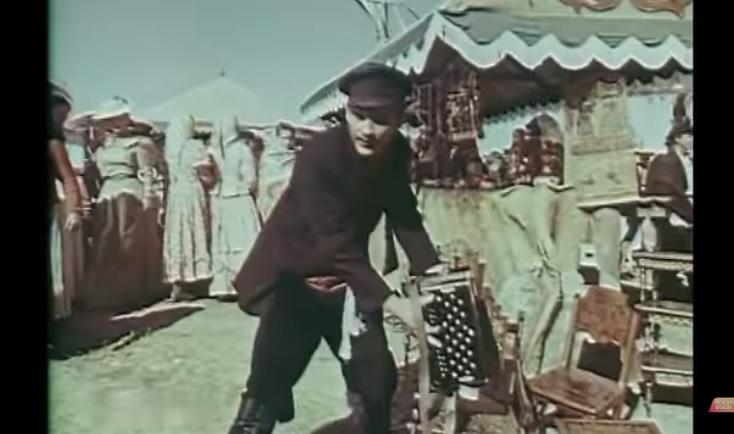 """Кадр из фильма """"Мать"""" по Горькому. 1955г."""