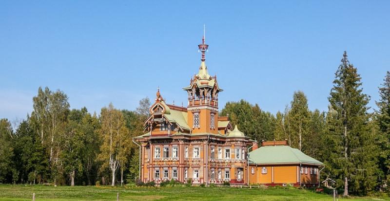 усадьба крестьянина Мартьяна Сазонова в Костромской области.