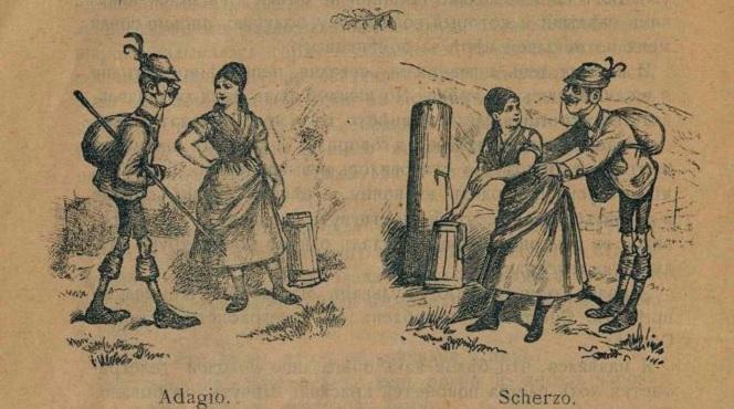 """Комикс"" из 1897г."
