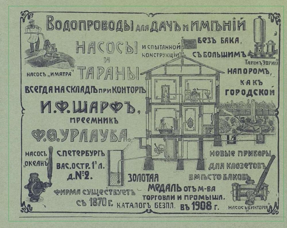 Зодчий №5 за 1910г реклама