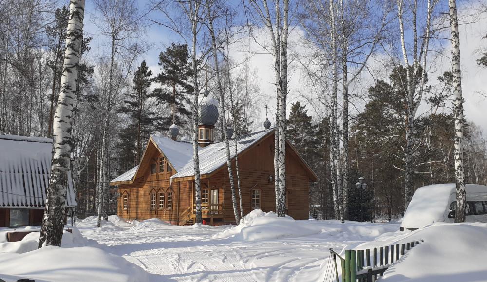 Храм Всех святых, в земле Российской просиявших г. Новосибирск