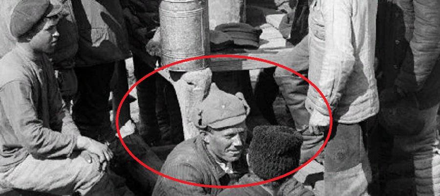 На плоту 1920-е г. Лепёхин.