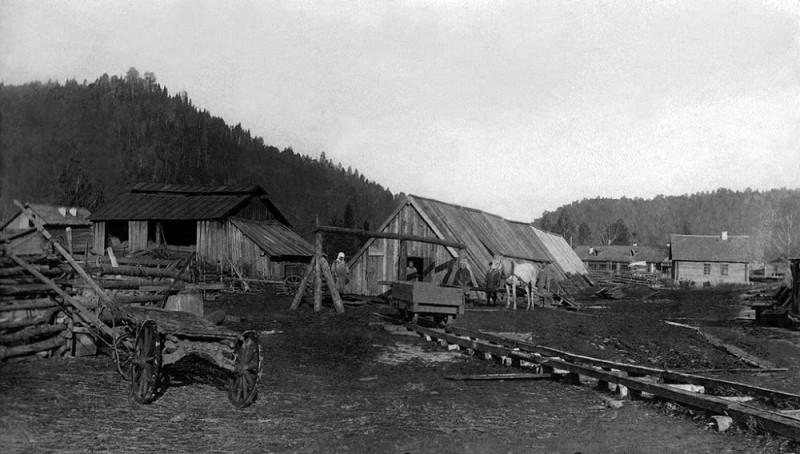 Сухоатинский поселок. Кирпичное производство 1934