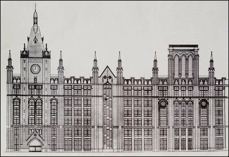 Проект товарищества русско-французских заводов «Проводник» (архитектор Г.П.Евланов).
