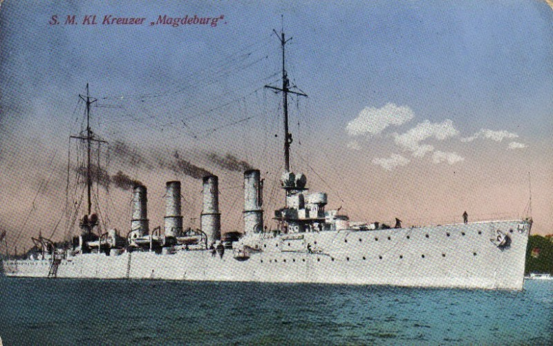 "фото с сайта http://seawarpeace.ru/deutsch/kreuzer/01_main/06_stadt-05-magdeburg.html Крейсер ""Магдебург"""