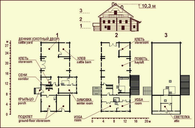 дом Копылова план