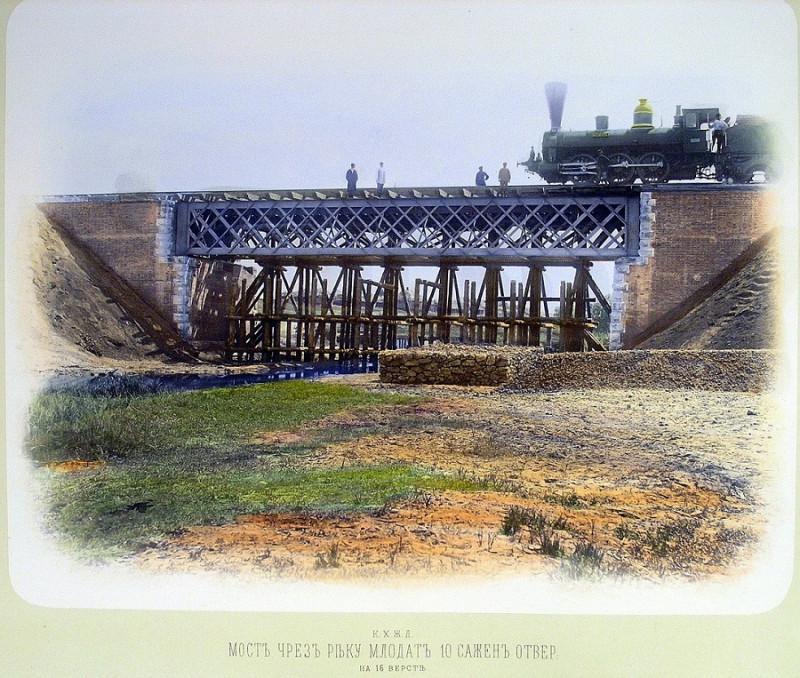 Мост через реку Млодать