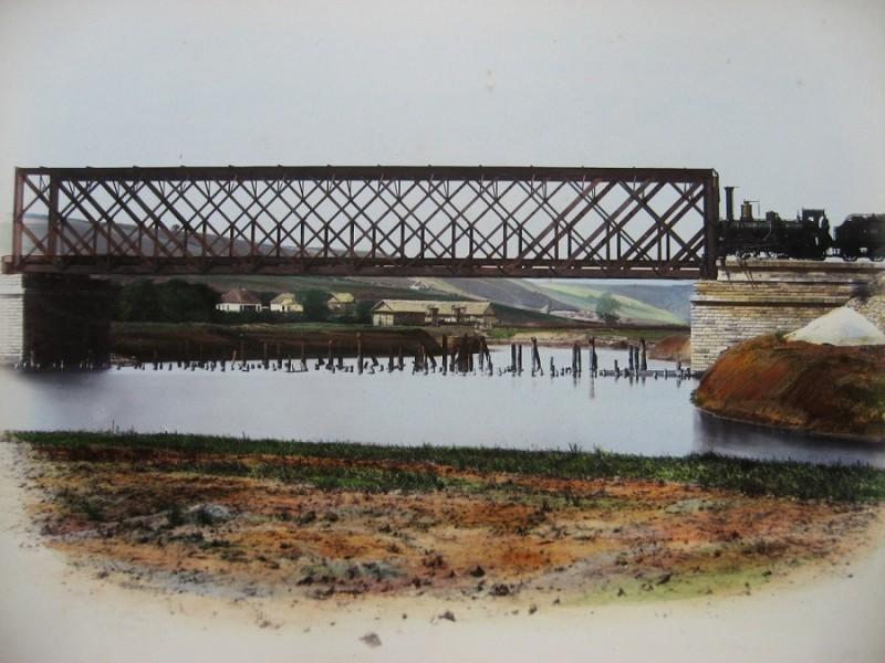 Мост через реку Торец