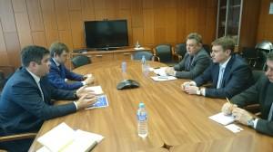 Обсуждение проектов с руководством Фонда развития моногородов