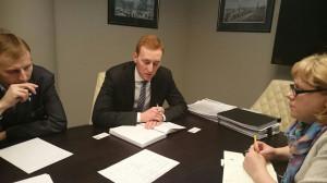 Рассмотрение инвест проектов г.о.г.Кумертау на заседании экспертной группы в ФЦПФ