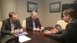 Обсуждение перспектив реализации инвест проектов с Баженовым и Марьиным