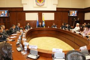 Пресс-конференция Главы Калмыкии