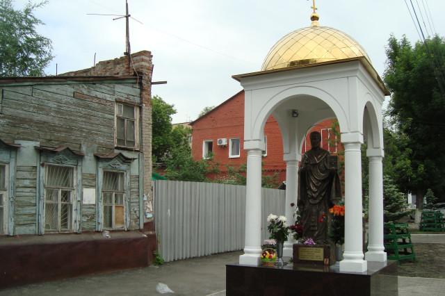 В Самаре, рядом с домом, где было