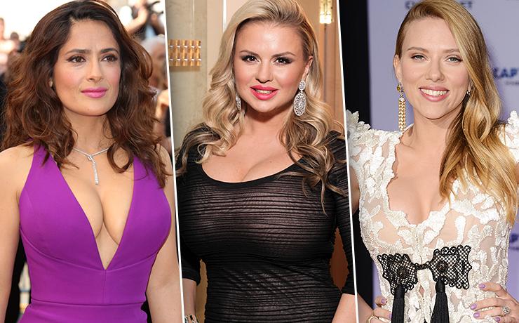 актрисы с большая грудью фото