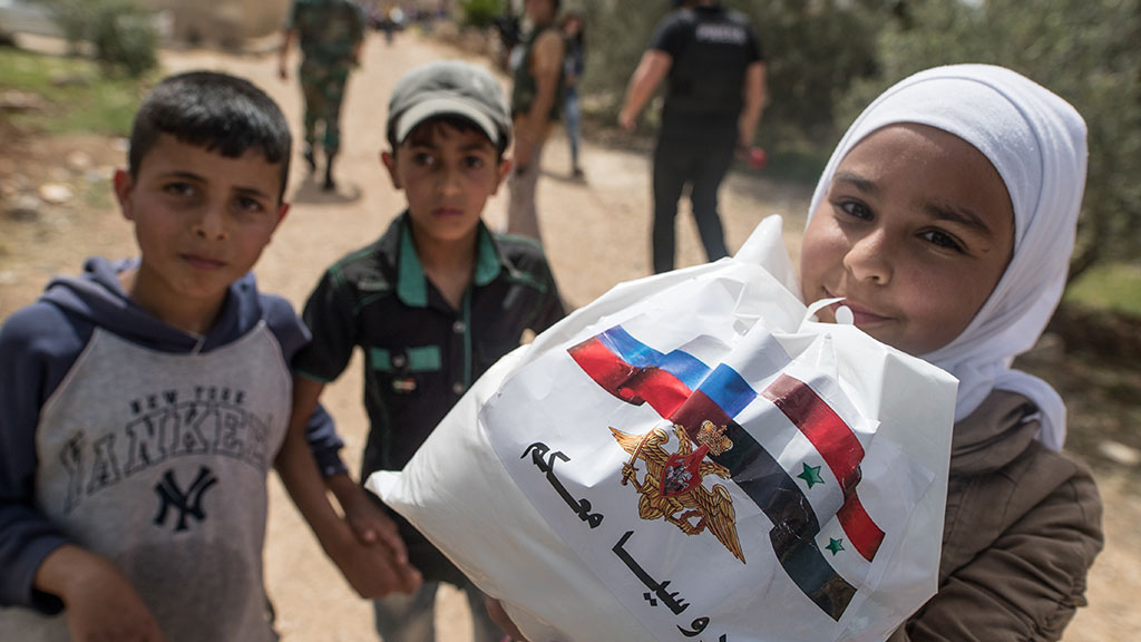 Почему россия помогает сирии а не своим гражданам
