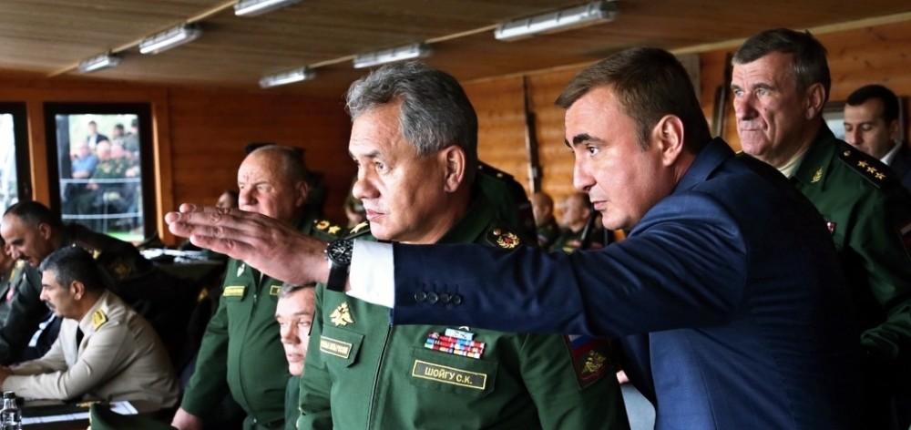 Министерство обороны: акцент на Тулу