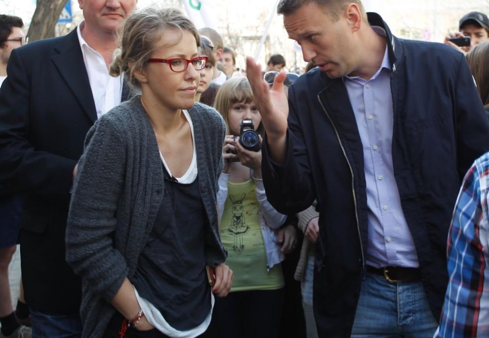Картинки по запросу Собчак и Навальный - фото