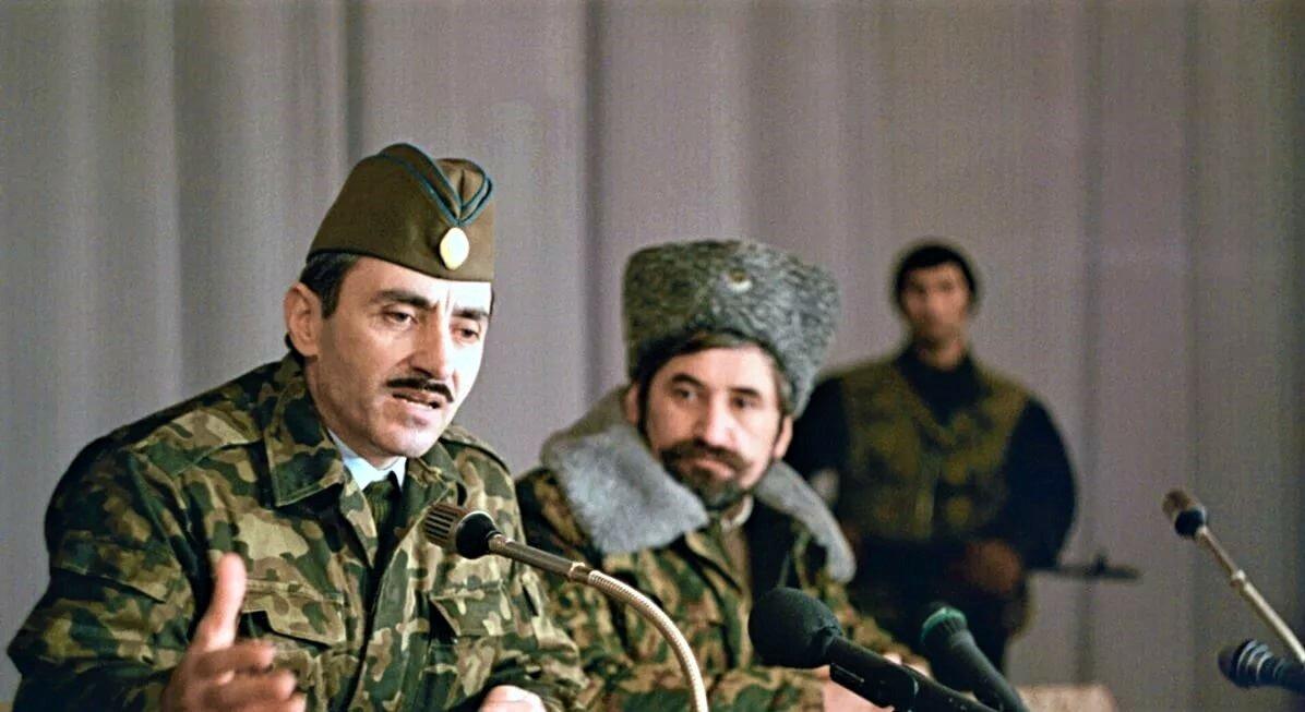 Президент самопровозглашённой Ичкерии Джохар Дудаев