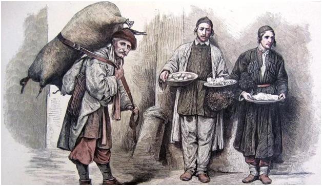Евреи с древних времен занимались торговлей на Руси