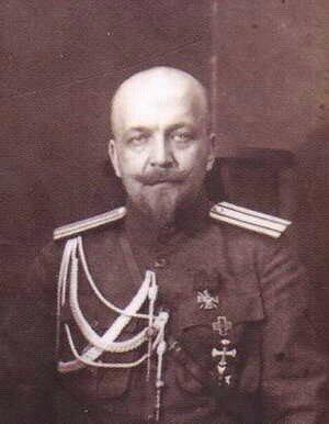 генерал-майор А. А. фон Лампе, в годы Великой Отечественной войны сотрудничал с Гитлером.