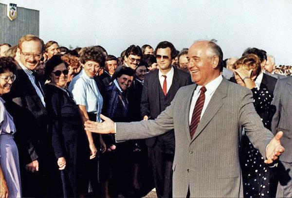 Горбачёв и народ, который ему верил. Ставрополь, середина 80-х