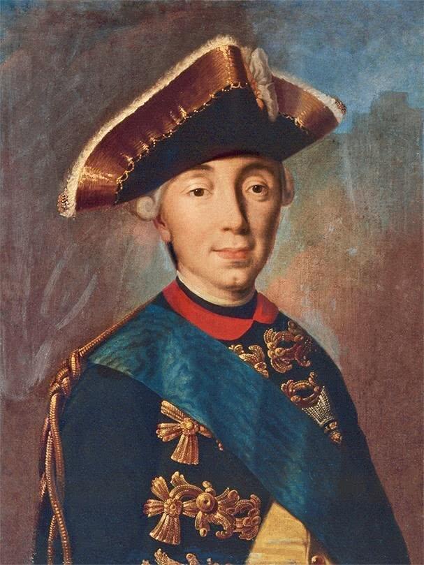 Пётр III первый представитель Гольштейн-Готторп-Романовской династии