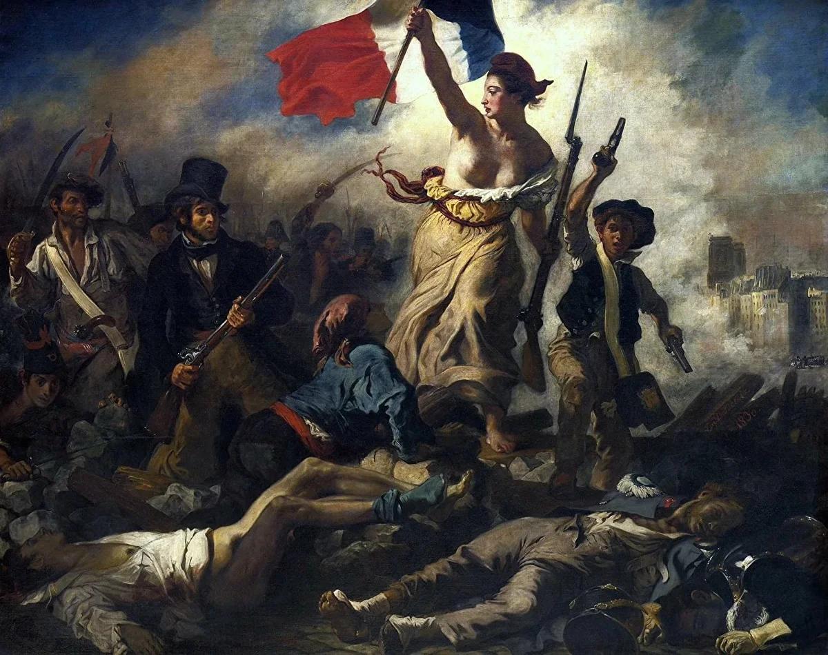 символ либерализма во времена Французской революции