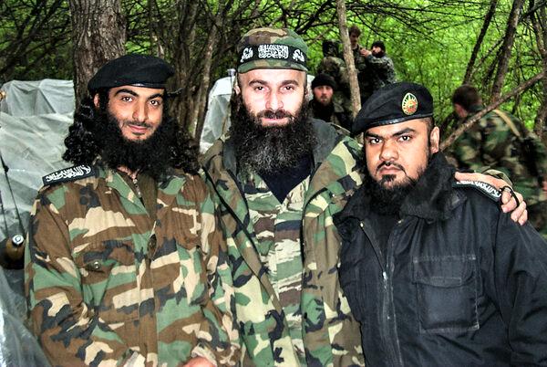 чеченские боевики (изображение взято из открытых источников)