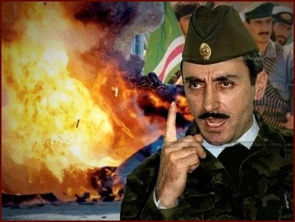 Президент самопровозглашённой Ичкерии Джохар Дудаев (изображение взято из открытых источников)