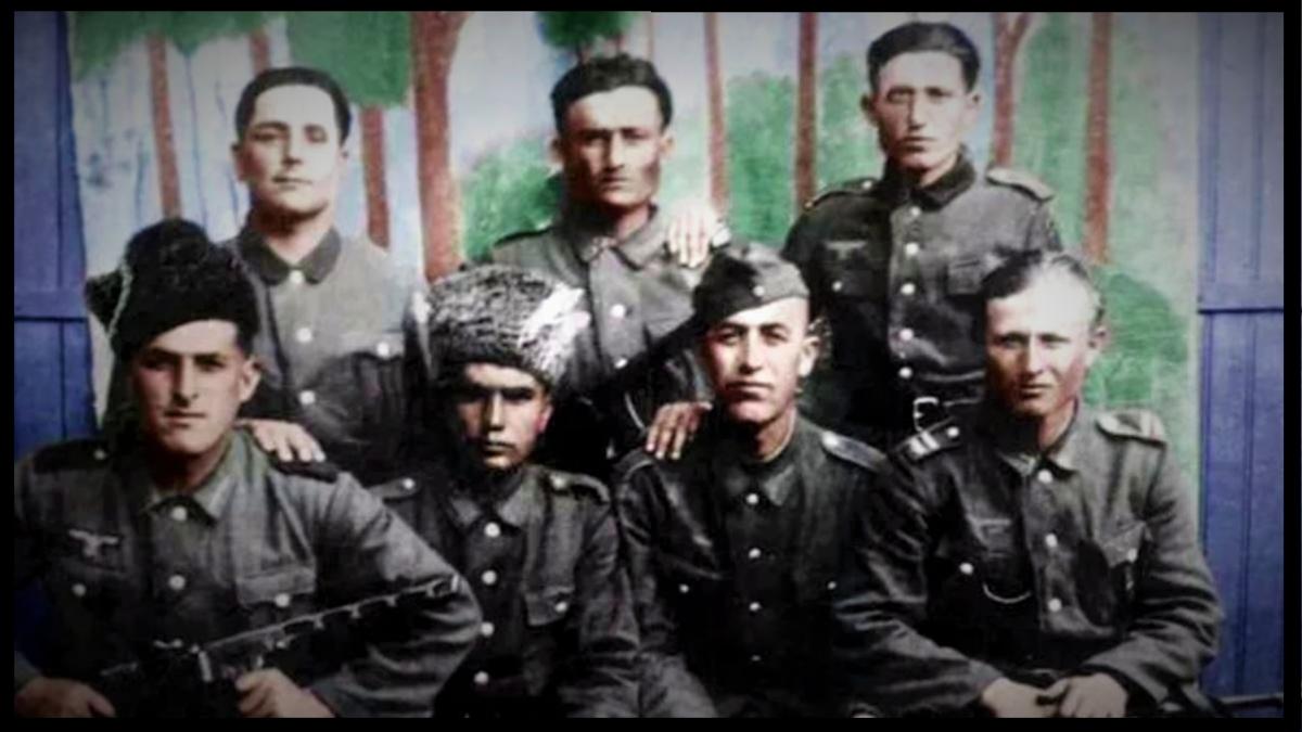 Горские коллаборационисты немецкого Вермахта (изображение взято из открытых источников)