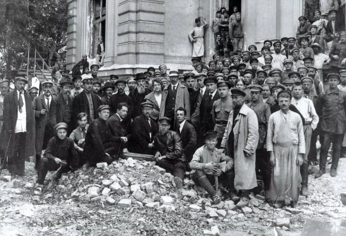 немецкие погромы. Москва 1915 год