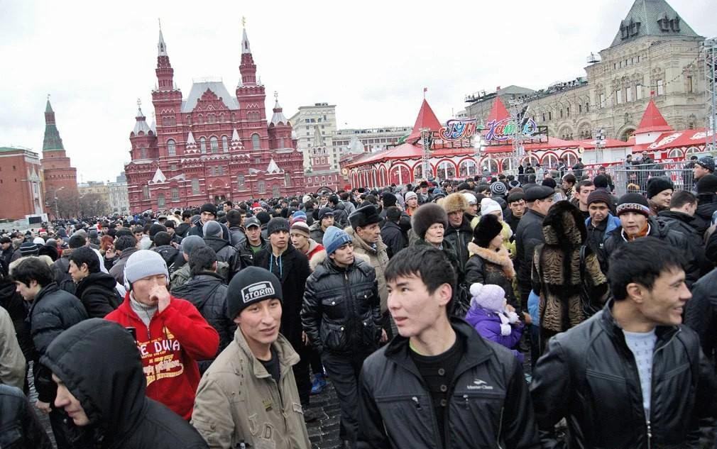 Большинство мигрантов в России - это выходцы из стран бывшего СССР (изображение взято из открытых источников)