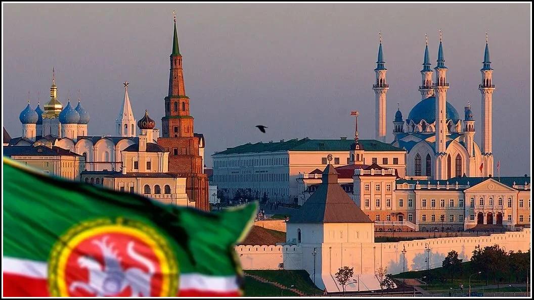 Республика Татарстан, вид на Казанский Кремль (изображение взято из открытых источников)