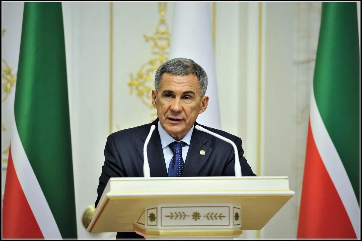 президент Татарстана Рустам Минниханов (изображение взято из открытых источников)