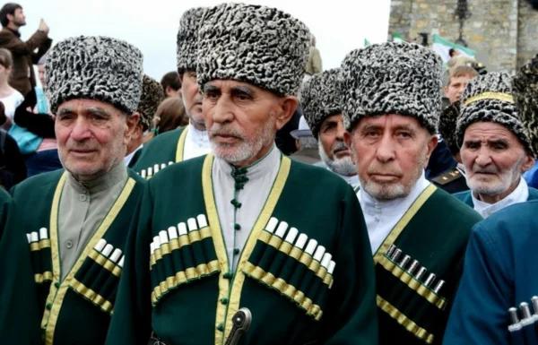у чеченцев сложная тейповая система (изображение взято из открытых источников)