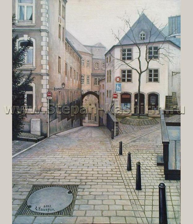 Люксембург(старый город) 40x30см