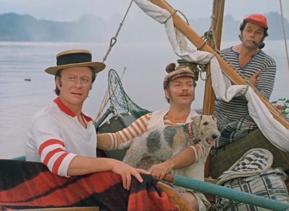 Трое в лодк