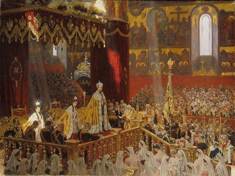 Коронация Николая-2-го